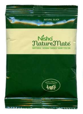 "Хна Nisha Nature Mate ""Чёрный"", 15 г"